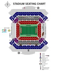 Seating Information Raymond James Stadium