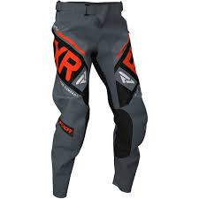 Fxr Snow Pants Size Chart Fxr Clutch Offroad Pants Color Stl_blk_nuke Size 28