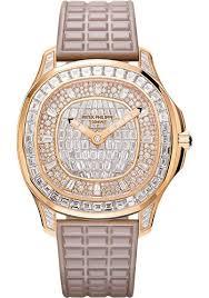 Joaillerie Watch Patek Haute 5062 Philippe 450r-001 Luce Aquanaut - Ladies