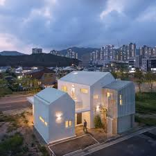 architecture houses. Exellent Houses House In Yangsan Looks Like A Cluster Of Small Houses Architecture  For Houses Y