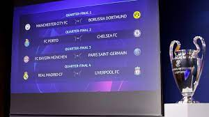 The 12 teams were drawn into six ties, which will decide the. Champions League Hammerlos Fur Bvb Fc Bayern Gegen Psg Zdfheute