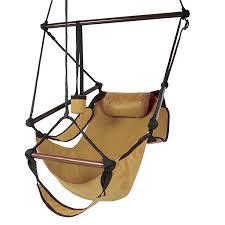 com best choice s hammock hanging chair air deluxe outdoor chair solid wood 250lb tan garden outdoor