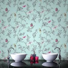 nature trail duck egg wallpaper from the modern living kitchen bath collection by graham  on graham and brown wall art ireland with kitchen bath wallpaper burke decor