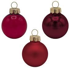 45 Weihnachtskugeln Christbaumkugeln Rot Bordeaux Christbaumschmuck Weihnachtsdeko