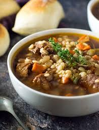 slow cooker beef and barley soup fox