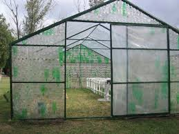 these sections were locked onto a hard frame and the inside was lined with plastic sheeting they are working well and a good yeild of plants was produced