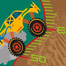 Monster Height Chart Personalised Monster Trucks Height Chart