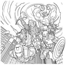 Small Picture Avengers Coloring Pages fablesfromthefriendscom