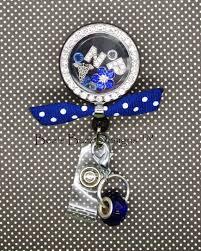 reel locket locket retractable badge reel badge clip floating charm memory locket floating locket floating charm rn nurse nurse gift