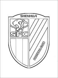 Kleurplaat Shanghai Shenhua Logo Gratis Kleurplaten