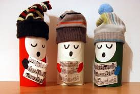 10 Christmas Craft Projects Made Out Of Upcycled Toilet Paper Christmas Crafts Made With Toilet Paper Rolls