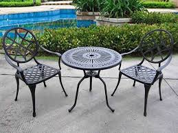 metal outdoor patio furniture sets