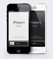 Iphone 5 Mockup Design Get Your Design Freebie Iphone 5 Psd Vector Mockup Apple