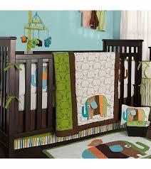 incredible kidsline zutano elephants 4 piece crib bedding set elephant crib bedding set decor
