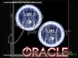 oracle 07 16 jeep patriot led colorshift w remote halo rings fog lights bulbs