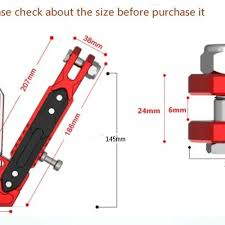 Kickstand Size Chart Adjustable Cnc Aluminium Motorcycle Foot Kickstand Kick Side Stand Vova