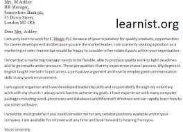 14 aug 2011 speculative covering letter examples