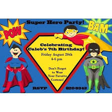 superheroes birthday party invitations free printable superhero birthday invitation templates superhero