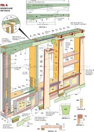 Corner Bookcase Plans Stunning Plans For Built In Bookcase 61 In Oak Corner Bookcase