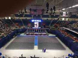O Connell Center Seating Chart View From Upper Seating Area Picture Of Stephen C O