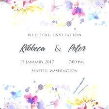 Wedding E Invite Template Wedding Invitations Great Electronic