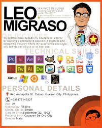 Graphic Artist Resume Simple Lang By Thefatglasses On Deviantart