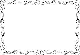 フリーイラスト 唐草模様の飾り枠でアハ体験 Gahag 著作権フリー