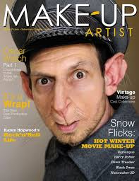 very effective rat makeup with the actor still looking very human great ears makeup artist magazinemake