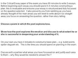 higher critical essays advice ppt video online  in the critical essay paper of the exam you have 90 minutes to write 2 essays