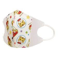ten pieces of island jiro for the nonwoven fabric child mask three levels structure nonwoven fabric solid mask child containing