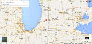 google map michigan usa  all world maps