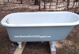 how to refinish a cast iron tub yourself