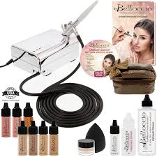 airbrush makeup kit machine starter cosmetic belloccio new professional beauty
