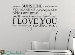 you are my sunshine my only sunshine vinyl lettering sticky vinyl wall accent art words stickers decals nursery or bedroom decor 1330 on wall art words for nursery with you are my sunshine my only sunshine vinyl lettering sticky vinyl