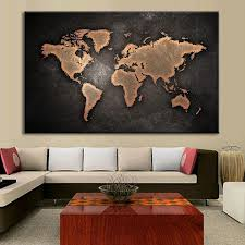 >world map wall art canvas p m world map wall art canvas