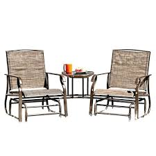 Steel  Outdoor Gliders  Patio Chairs  The Home DepotOutdoor Glider Furniture
