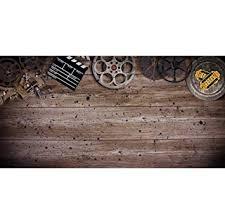 Amazon Com Vintage Film Background Wooden Texture Board