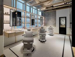 Clean-Cut Minimalism and Tradition at AKIN Barber & Shop in Dubai. Barbershop  DesignBarbershop IdeasBarber Shop InteriorModern ...