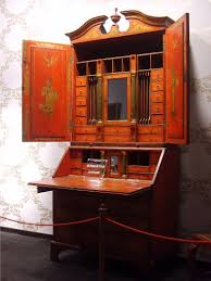 traditional office design. Cool Secretary Desk For Your Home Office Design: Vintage Wooden Traditional Design R