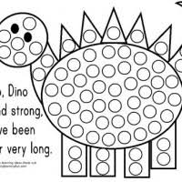 Bingo Dot Art Coloring Pages Murderthestout