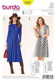 Burda Patterns Unique BD48 Burda Style 48 Dress Pattern Jaycottscouk Sewing Supplies