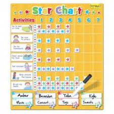Doowell Activity Charts Fiesta Crafts Magnetic Star Chart