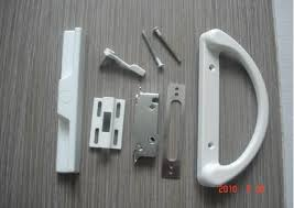 image of sliding patio door hardware latch repair