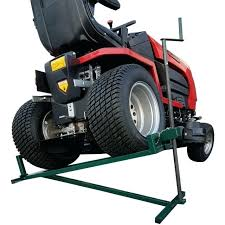 lawn tractor jack ride on mower lift lifting device ramp garden lifter uk home depot