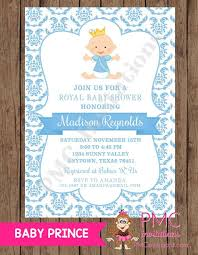 Online Invite Templates Awesome Royal Prince Baby Shower Invitations FREE Online Invitation