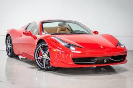 2012 Ferrari 458 Spider | Fusion Luxury Motors