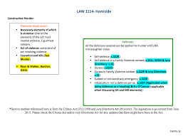 Criminal Law Elements Chart Law1114 Homicide Flow Chart Notexchange