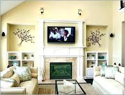 living room with corner fireplace and tv decorating ideas small in c adorable above layout design