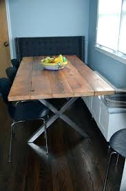 wooden dining table legs table legs wood excellent pallet wood dining table with steel legs pallets