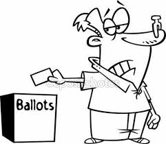 depositphotos_14004308 Vector of a Cartoon Black and White Outline Female Voter with a Nose Plug Putting Her Ballot in a Box Outlined Coloring Page 1970 impala wiring harness,wiring wiring diagrams image database on 1968 pontiac gto wiring diagram free picture